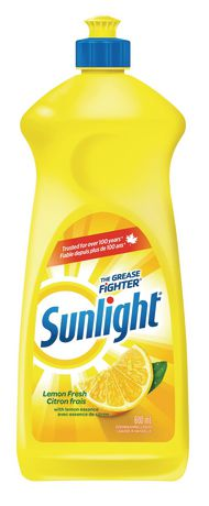 Sunlight Standard Liquid Dish Soap, Lemon Fresh
