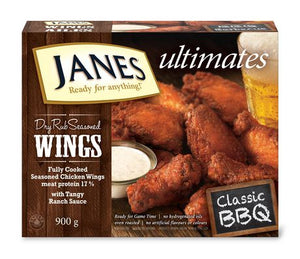 Janes ultimates wings BBQ