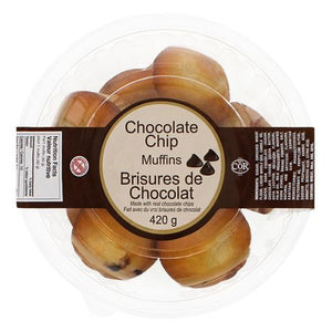Chocolate Chip Muffin Tub