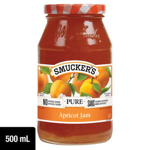 Smucker's Pure Apricot Jam 500mL