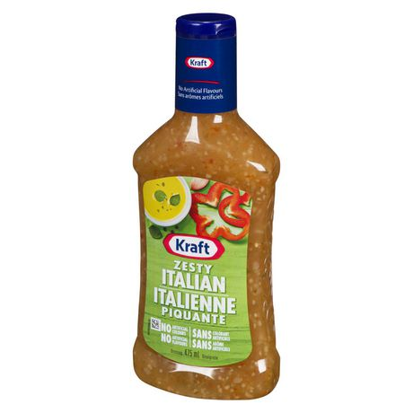 Kraft Zesty Italian Salad Dressing
