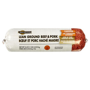 Our Certified Lean Ground Beef And Pork