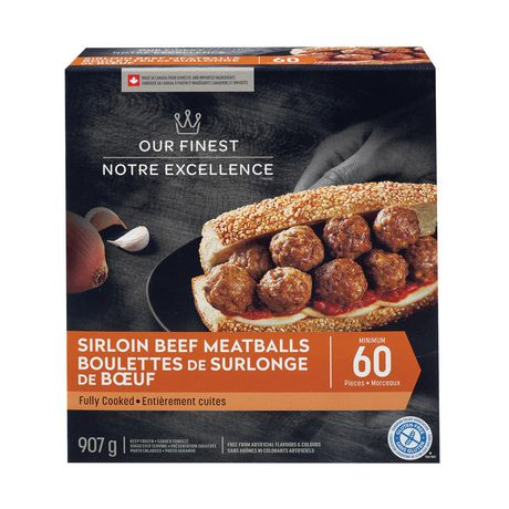 Our Finest Sirloin Beef Meatballs