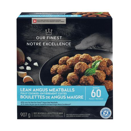 Our Finest Lean Angus Meatballs
