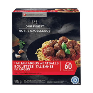 Our Finest Italian Angus Beef Meatballs