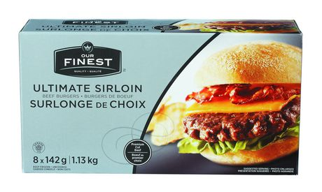 Our Finest Ultimate Sirloin Beef Burger
