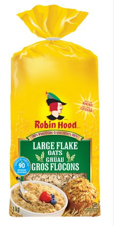 Robin Hood 100% Whole Grains Large Flake Oats 1kg