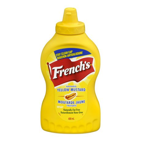 French's Prepared Yellow Squeezable Mustard