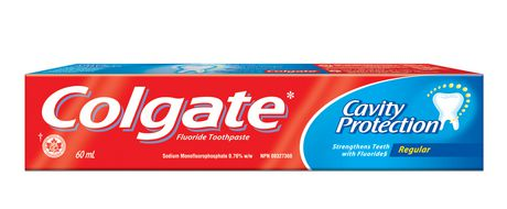 Colgate Cavity Protection Fluoride Toothpaste, Regular