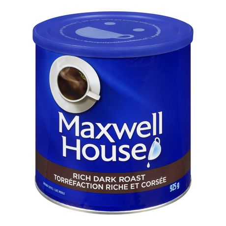 Maxwell House Rich Dark Roast Ground Coffee