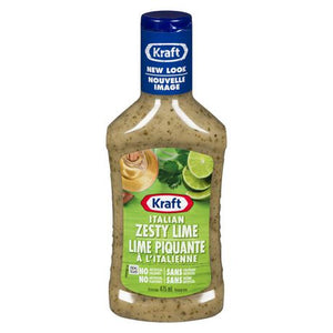Kraft Italian Zesty Lime Dressing And Marinade
