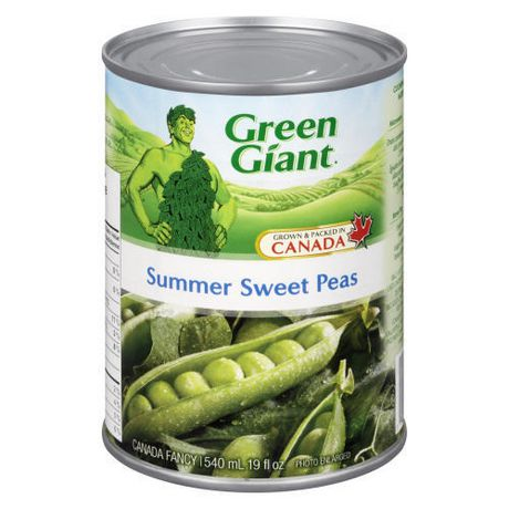'Green Giant  Peas Summer Sweet Our vegetables are Picked At The Peak Of Perfection conveniently packed