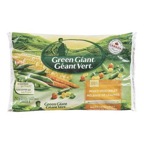 Green Giant 100 % Natural Mixed Vegetables