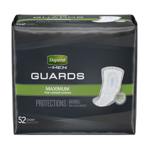 Depend Incontinence Guards for MEN, Maximum Absorbency