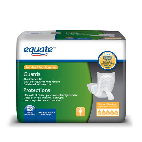 Equate Men's Maximum Absorbency Guard