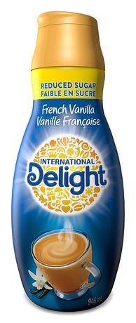 International Delight Reduced Sugar French Vanilla Coffee Whitener