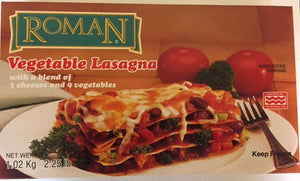 Roman Cheese Vegetable Lasagna Frozen Meals
