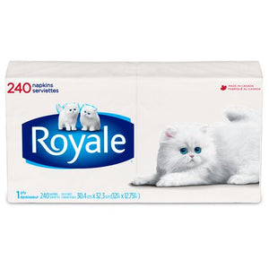 ROYALE® 1-Ply Napkins