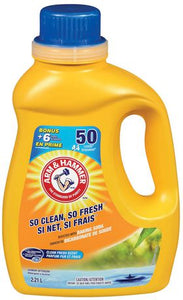 Arm and Hammer Clean Fresh Liquid Laundry Detergent
