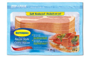 Butterball Salt Reduced Bacon Style Turkey