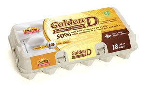 GoldEgg Golden D Vitamin D Enriched Large Eggs