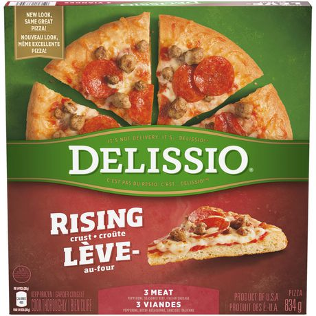 DELISSIO® Rising Crust Pizza 3 Meat