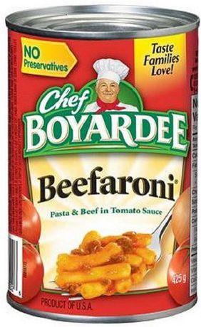 Chef Boyardee® Beefaroni Pasta And Beef in Tomato Sauce