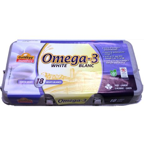 GoldEgg Omega 3 Large White Eggs