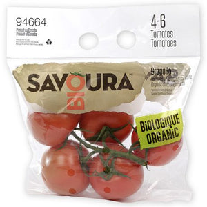Savoura Organic Tomatoes on A Vine