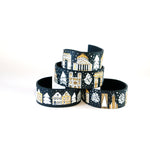 Winter in Amsterdam Leather Bracelet