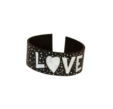 Winter Love Leather Bracelet