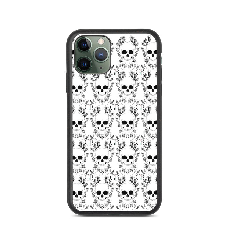 Skull Biodegradable phone case