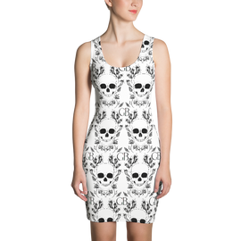 Skull Sublimation Cut & Sew Dress