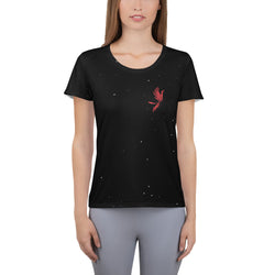 Red Phoenix Women's Athletic T-shirt