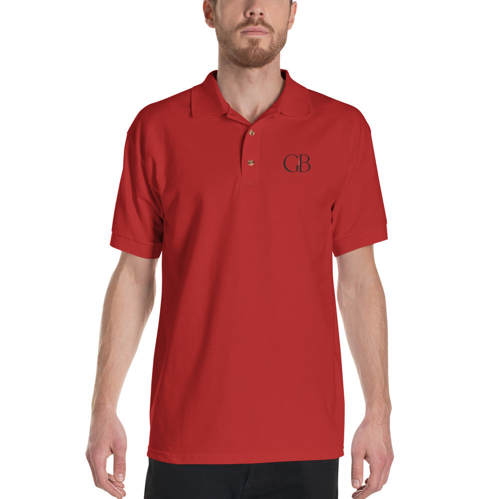 GB Embroidered Polo Shirt