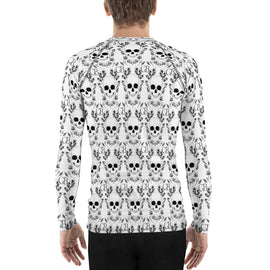 Skull Men's Rash Guard