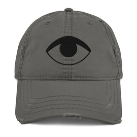 E-eye Distressed Dad Hat