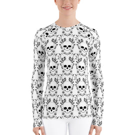 Skull Women's Rash Guard