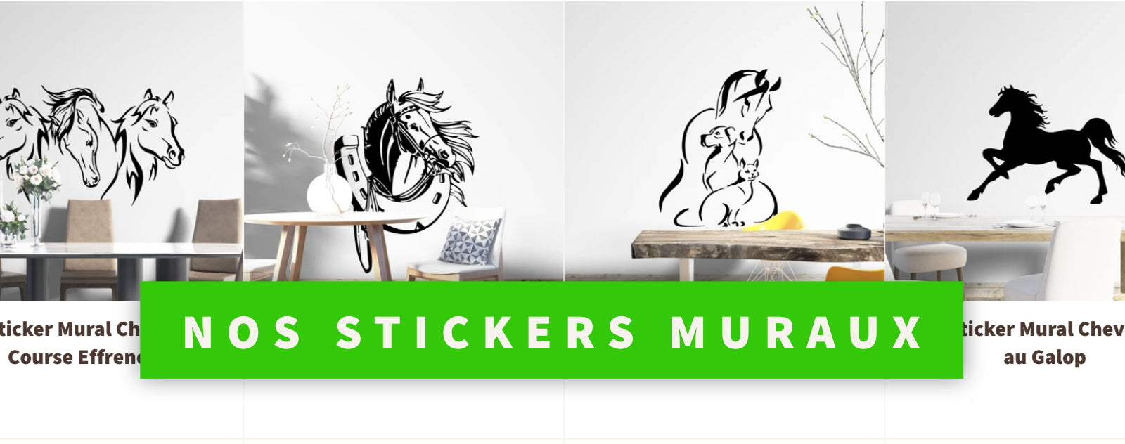 Nos stickers muraux