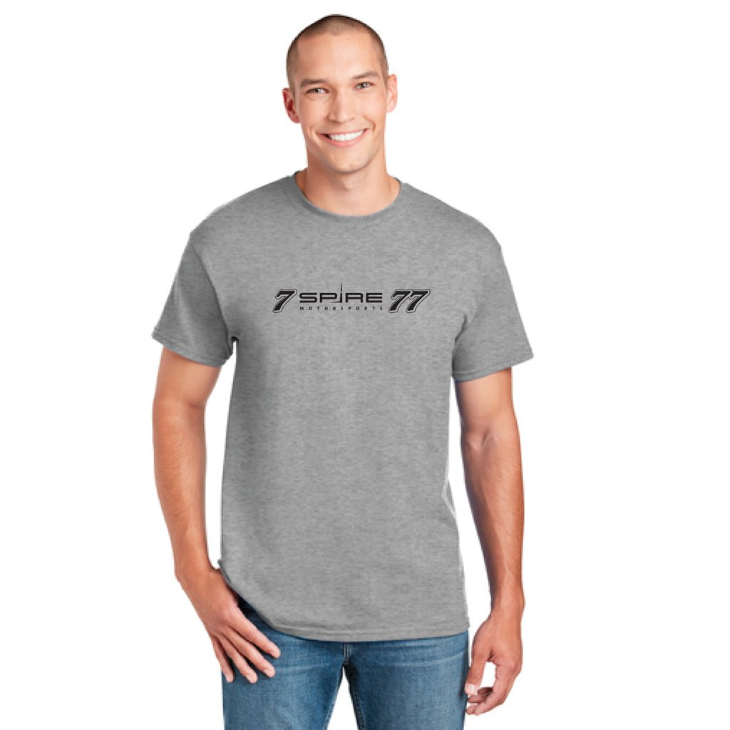 Spire - DryBlend® 50 Cotton/50 Poly T-Shirt #7 and #77 Logo