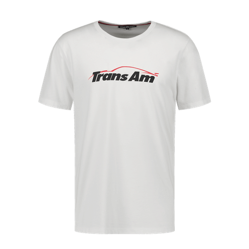 Trans Am T-Shirt With Nanocoating Technology - White