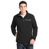 Spire Fleece Jacket #7 and #77 Logo