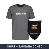 Trans Am Combo - T-Shirt + Bandana with Nanocoating Technology