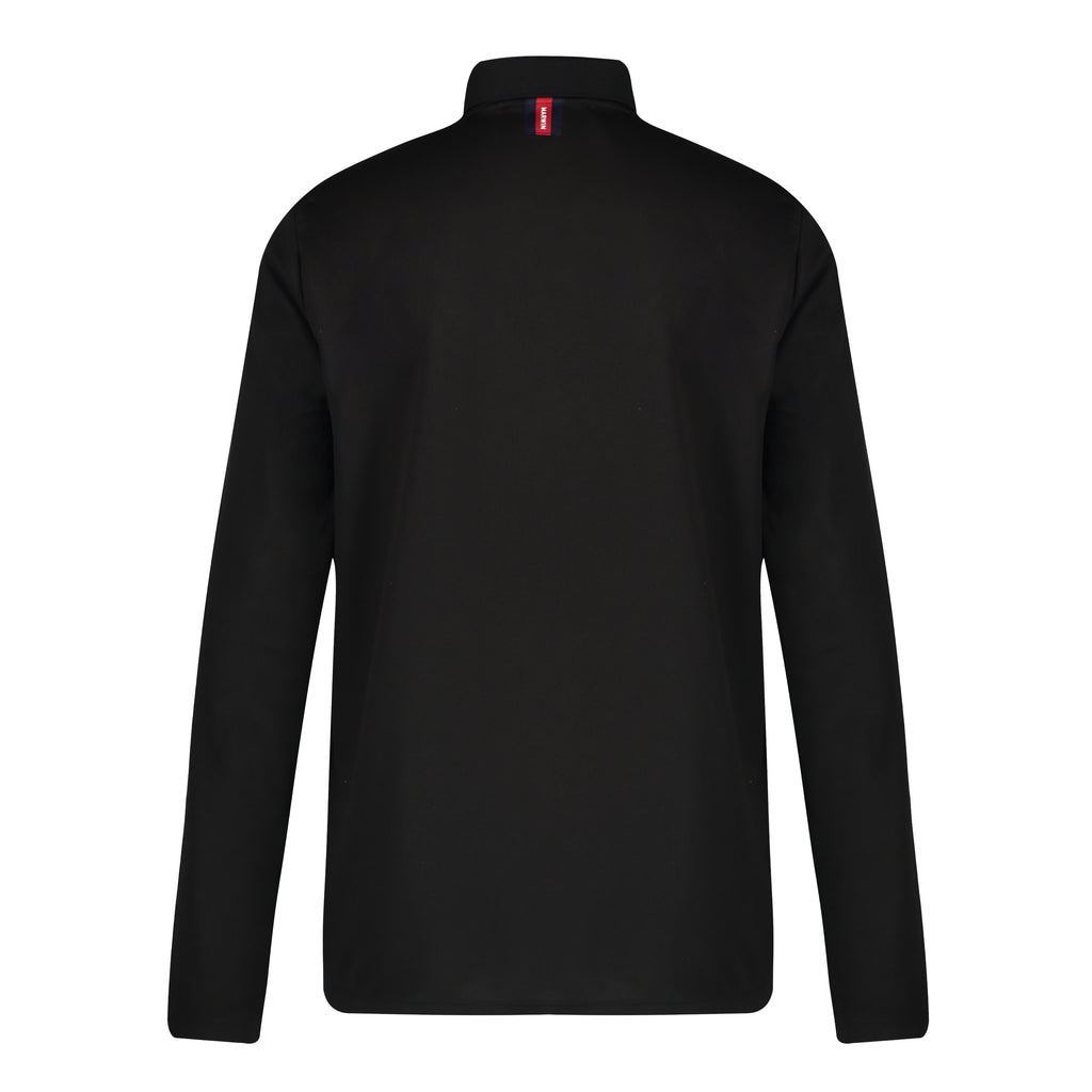 Cotton Button Polo Long-Sleeve