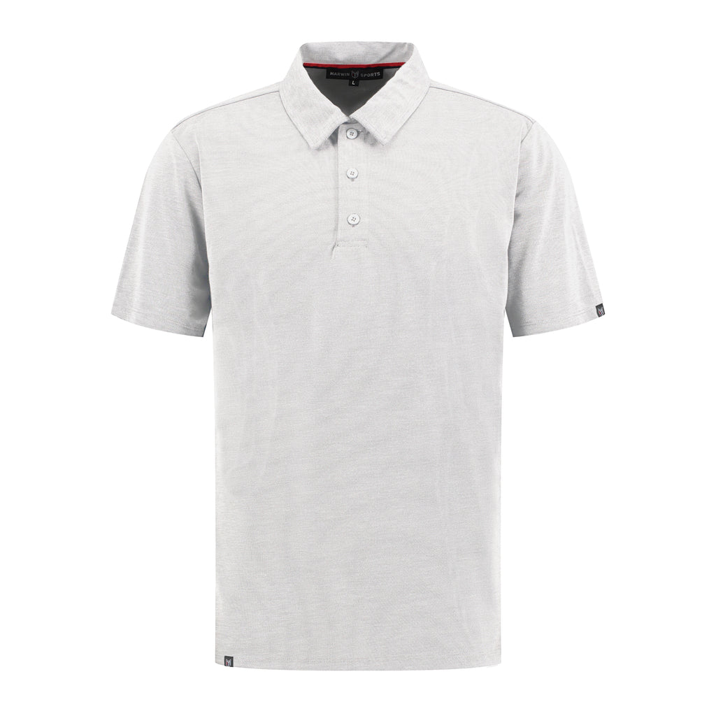 Cotton Pique Button Polo