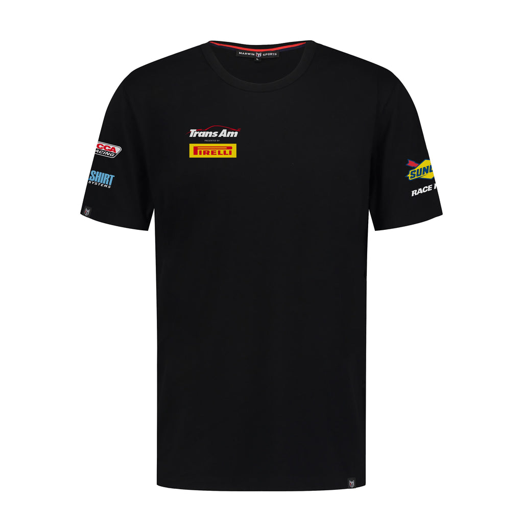 Trans Am T-Shirt With Nanocoating Technology - Black