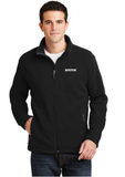 Spire Fleece Jacket  Spire Logo Only