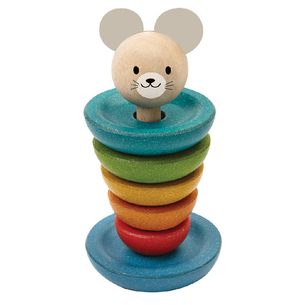 PlanToys / 18M+ / Stacking Mouse Rings