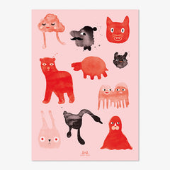 Poster van Anny Who / Creatures