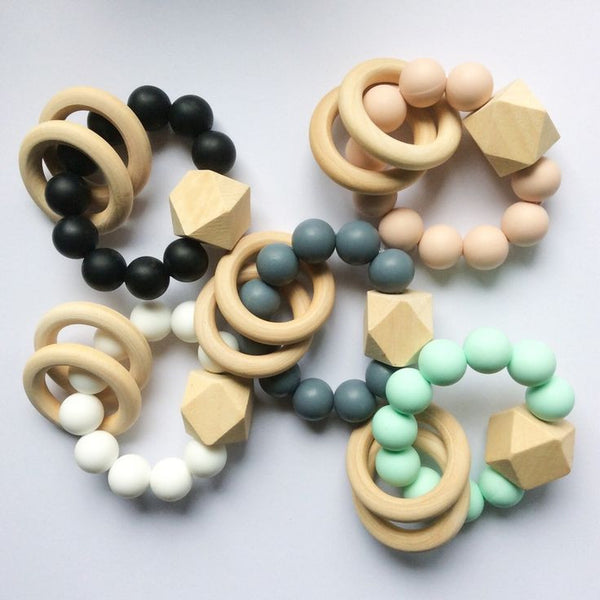Dove and Dovelet / Bijtring Rammelaar / Titan Teether / Mint